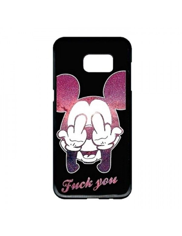 Coque rigide Samsung Galaxy S7 - Fuck you Mickey