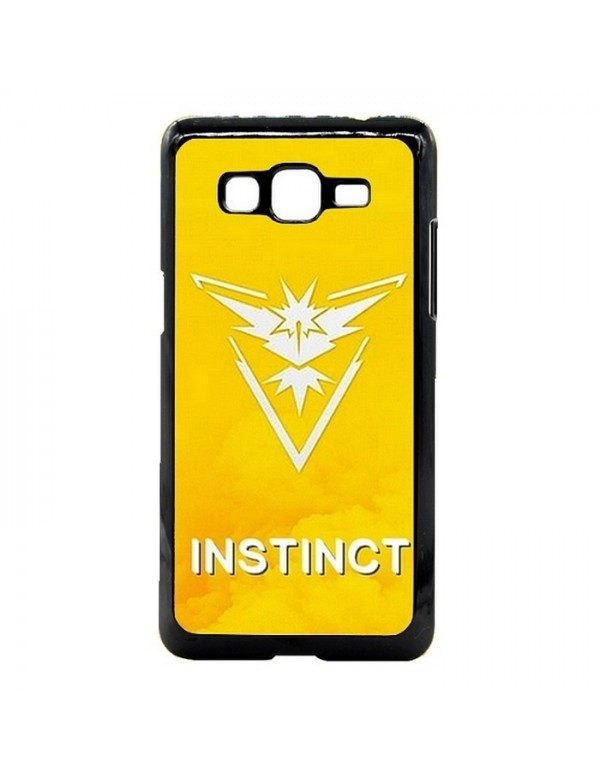 Coque rigide Samsung Galaxy Grand Prime/Grand Prime VE - Pokemon go team instinct jaune