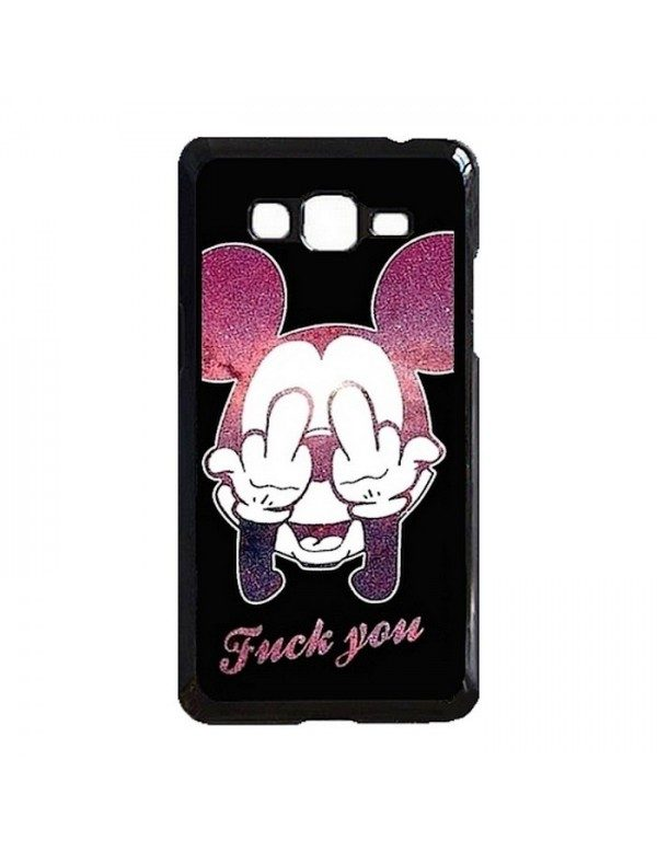 Coque rigide Samsung Galaxy Grand Prime/Grand Prime VE - Fuck you Mickey