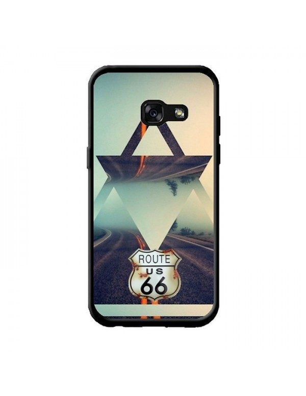 Coque Samsung Galaxy A3 2017 - Triangle swag route 66.