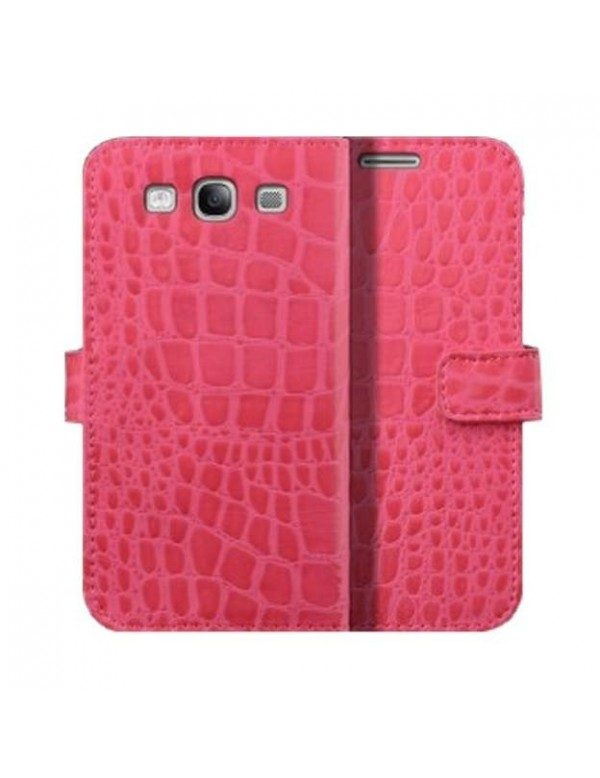 Etui Croco Gloss-Rose Samsung Galaxy S3