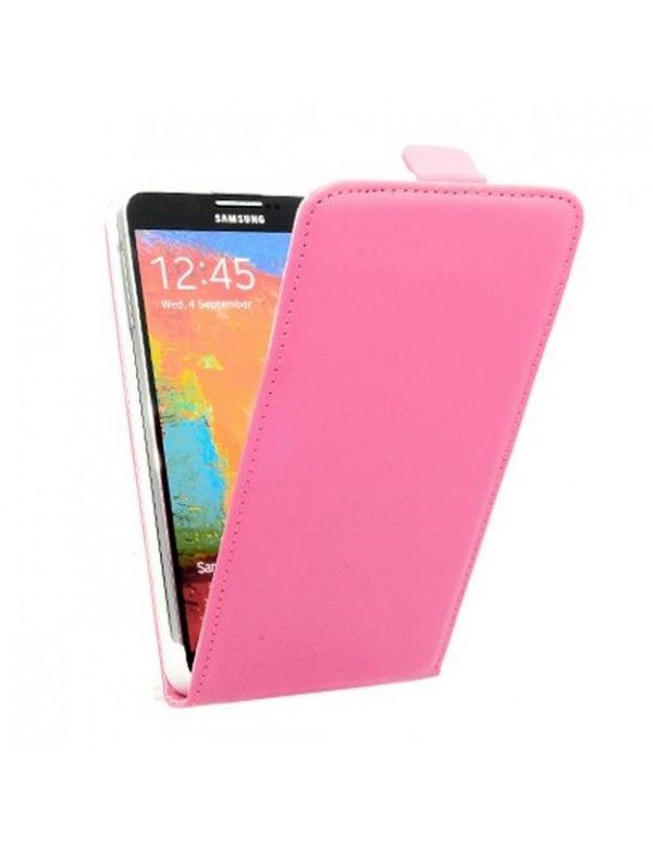 Etui portefeuille Samsung Galaxy Note 3 N9000 Rose