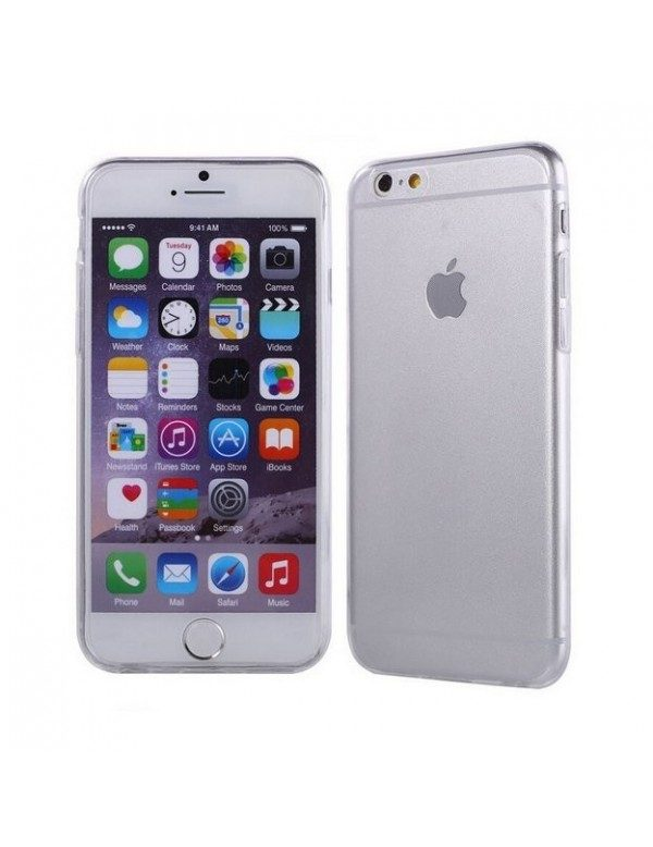 iPhone 6 plus/6S plus - Coque silicone ultra transparente