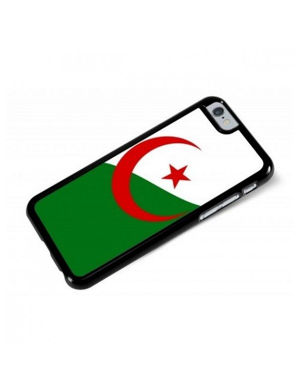 Coque iPhone 6/6S - Drapeau Algerie Grunge