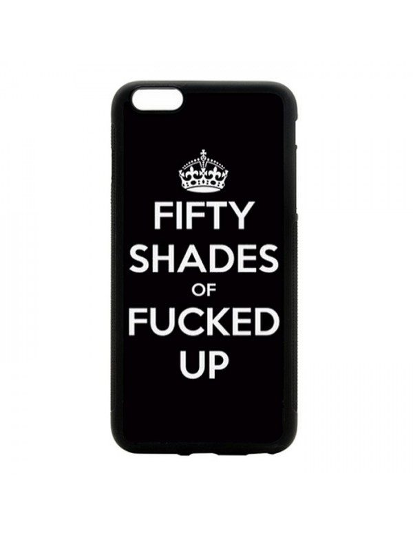 Coque souple iPhone 6/6S - Fifty shades of Fucked up