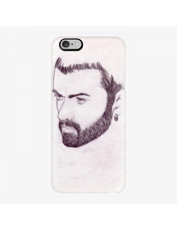 Coque rigide iPhone 6/6S - Portrait George Michael