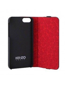 Etui portefeuille iPhone 5/5S/SE - Glossy noir Kenzo