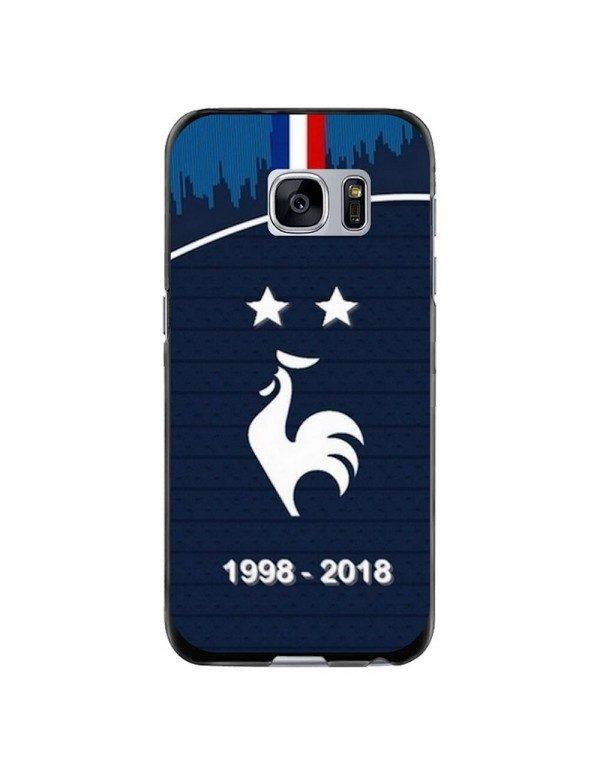 Coque souple Samsung Galaxy S6 - Champion du monde de football 2018