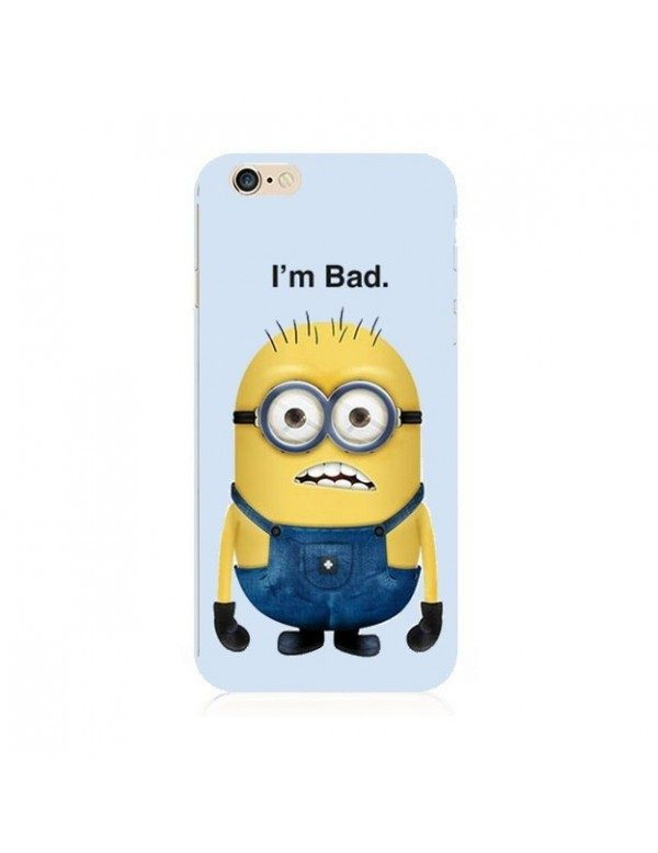 iPhone 5C coque souple minion i'm bad