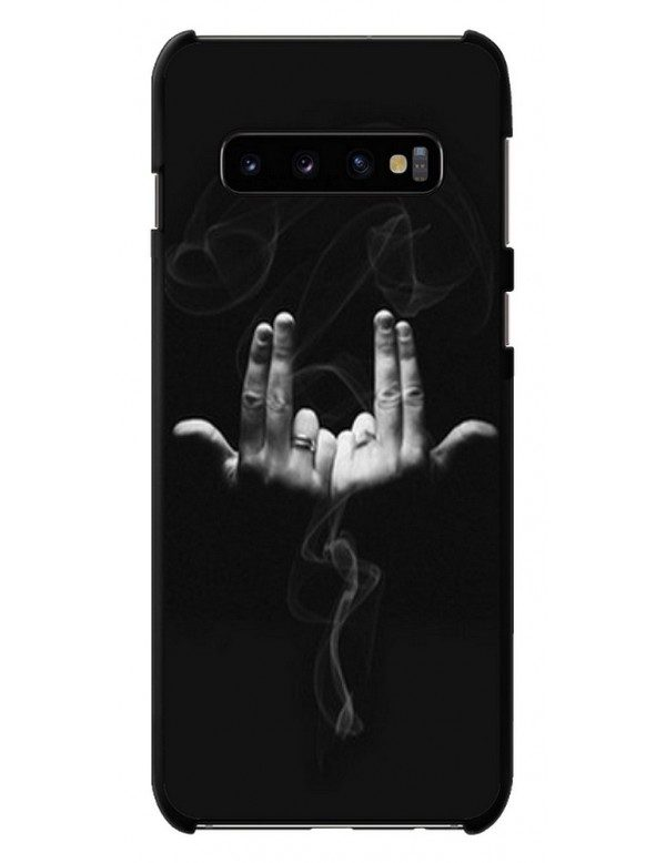 COQUE SOUPLE DE PROTECTION POUR SAMSUNG GALAXY S10 PLUS - LOOK RAPPEUR JUL