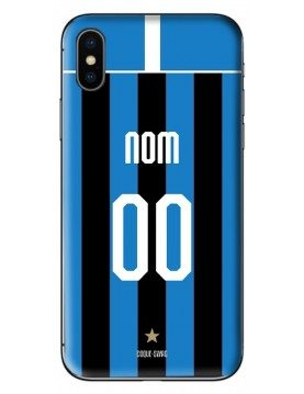 COQUE MAILLOT FOOT - INTER MILAN DOMICILE 2019/2020 - PERSONNALISABLE