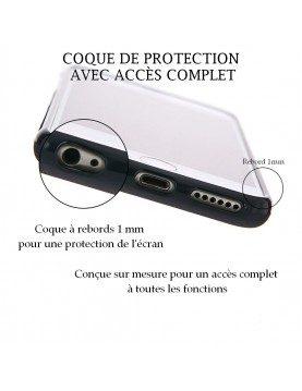 Samsung Galaxy S7 Edge - Coque personnalisable - Rigide Noir