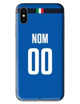 COQUE MAILLOT RUGBY - ITALIE DOMICILE 2019 - PERSONNALISABLE
