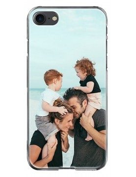 iPhone SE 2020 - Coque personnalisable - Contour Souple Transparent