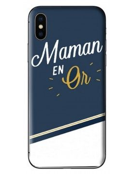 Coque de protection Maman en or
