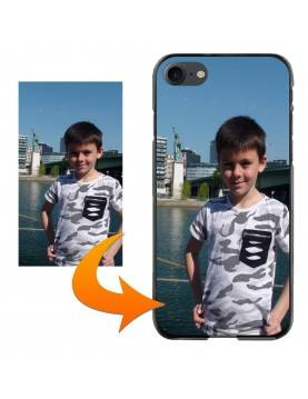 Coque personnalisable pour iPhone 12 - Contour Souple Blanc