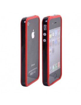 Bumper-Silicone-Rouge-noir-iPhone-4-4S