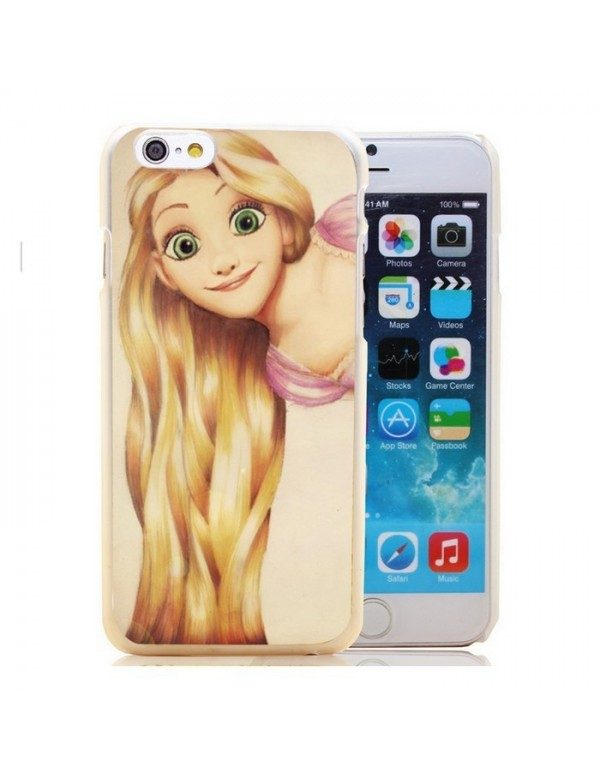 Coque rigide iPhone 4/4S - Princesse Raiponce